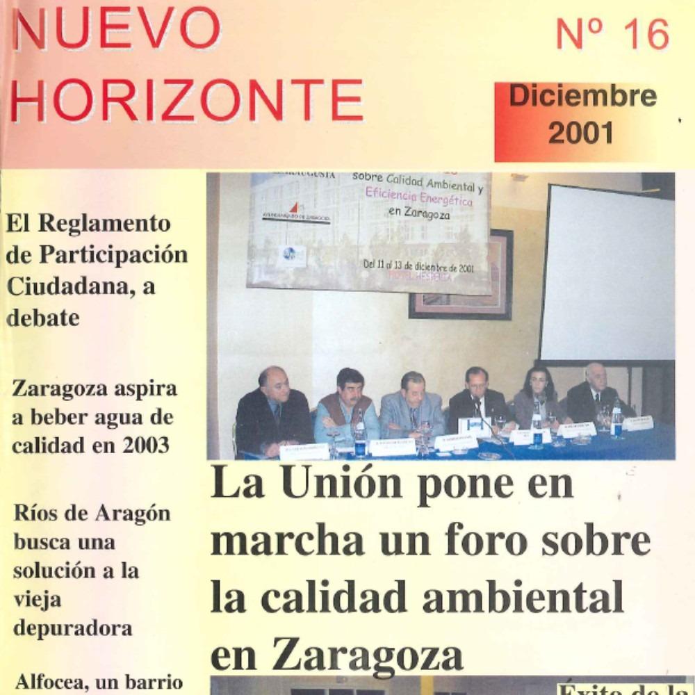 Revista Nuevo Horizonte Número 16 | Diciembre 2001