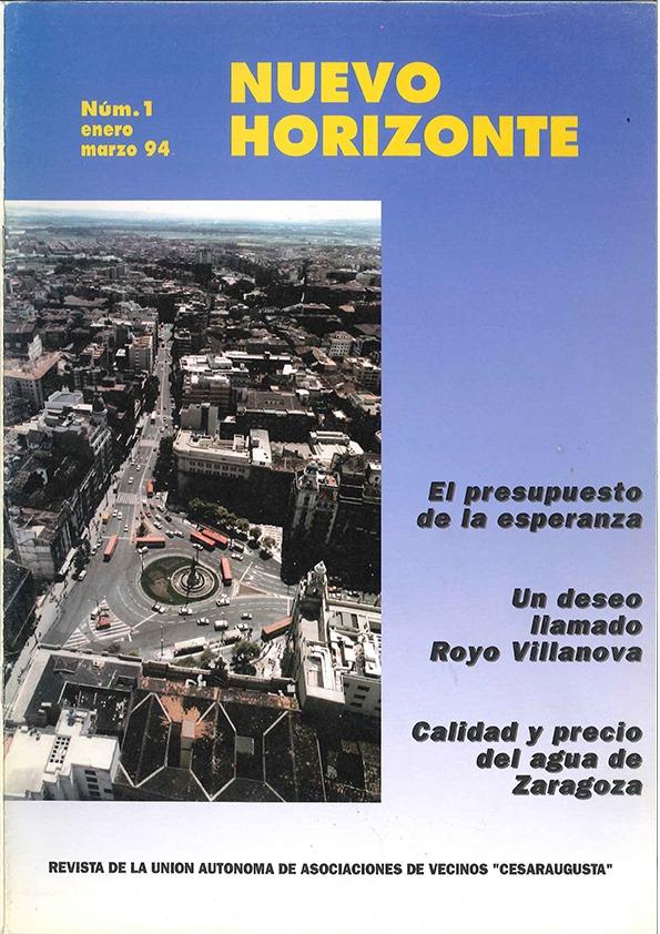 Revista Nuevo Horizonte Número 1 | Enero-Marzo 1994