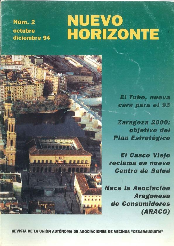 Revista Nuevo Horizonte Número 2 | Octubre-Diciembre 1994