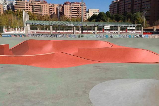 La asociación Arco Iris propone dar  el nombre de IGNACIO ECHEVARRÍA a las  pistas de skate de Vía Hispanidad