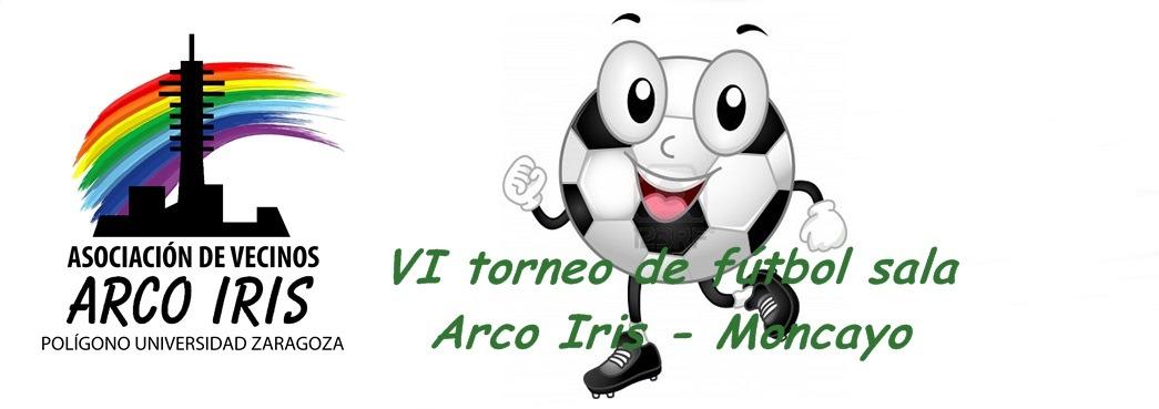 VI Torneo de fútbol sala Arco Iris – Moncayo