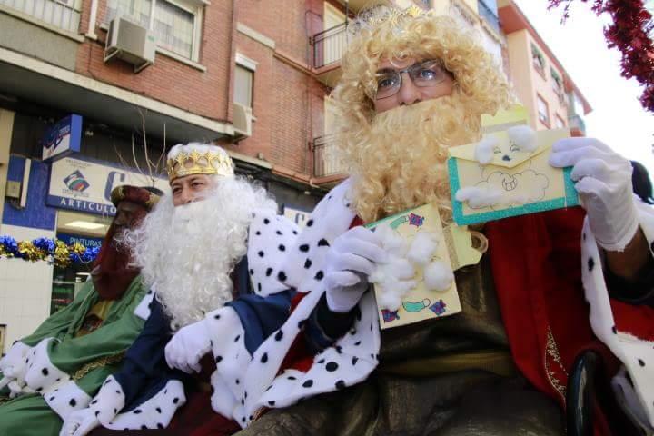 Los Reyes también llegan al barrio de Las Fuentes